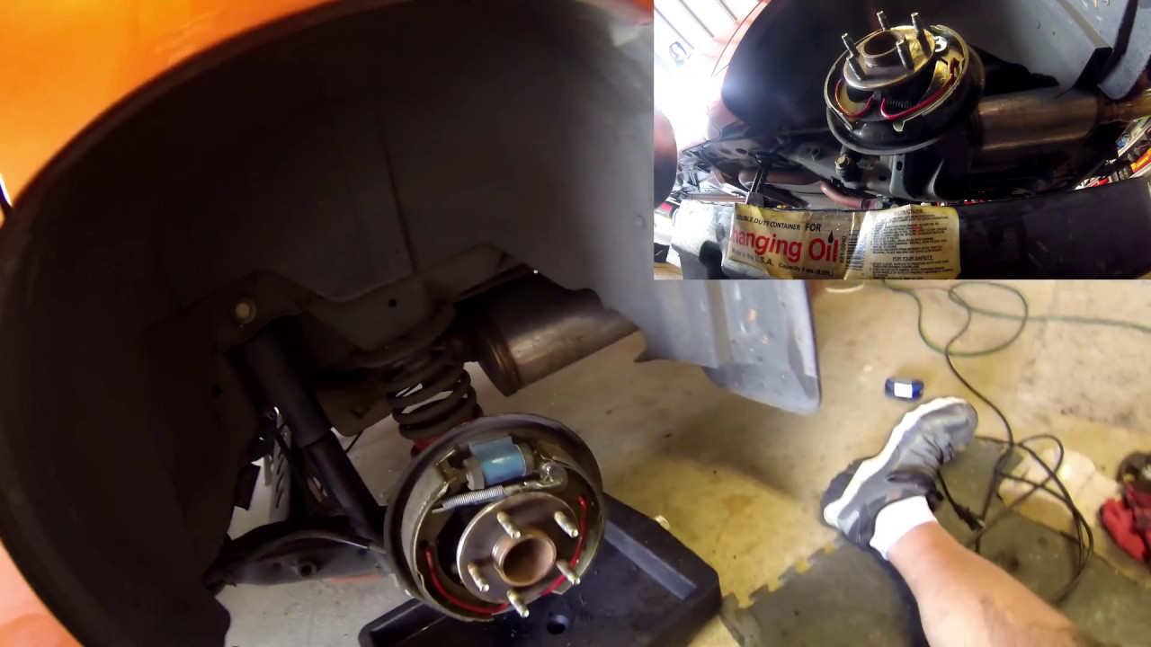 Hhr And Cobalt Rear Brake Shoes Replacement Youtube Chevrolet Berlinetta I Need A Diagram For The Drum Brakes