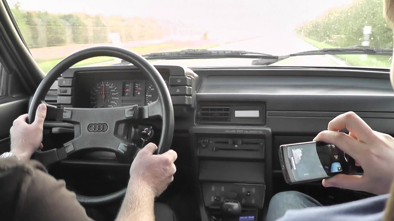 Audi 80 Quattro 20v Turbo Gt40 On Street Youtube