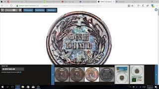 DIME DE 1894-S CON VALOR DE $1,997,500 MILLON DE DOLARES