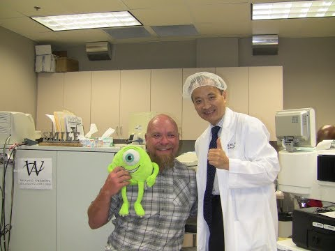 James Yeager 3D LASIK done by Dr  Ming Wang, Harvard & MIT MD; PhD
