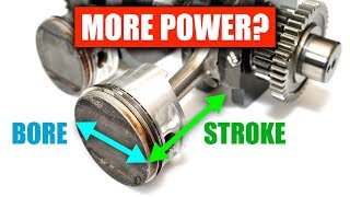 Bore vs Stroke - What Makes More Power?