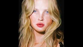 Camille Christensen painting