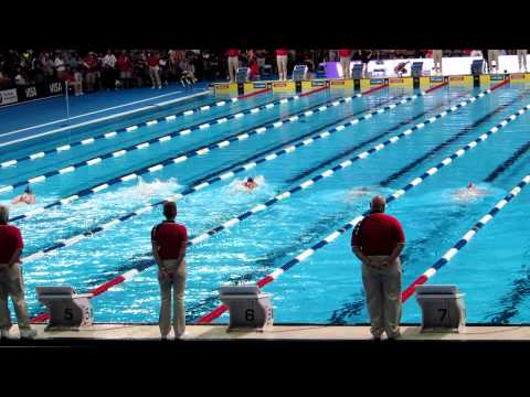 2012 Olympic Trials  Women's 100M Breaststroke  CIA's Katharine Ross