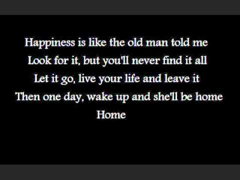 Happiness- The Fray Lyrics