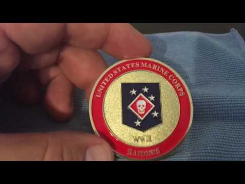 US Marine Corps Raiders Marine Special Operator Challenge Coin