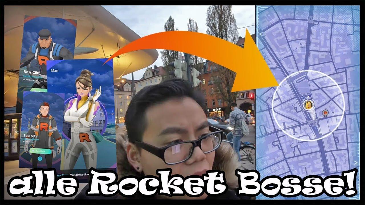 rocket bosse besiegen
