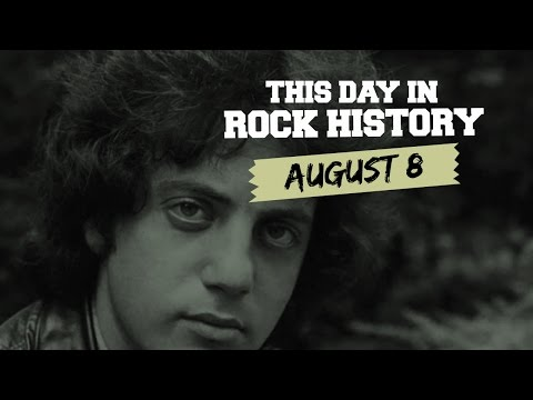 Billy Joel Looks Back, Riot at Guns N' Roses-Metallica Show - August 8 in Rock History