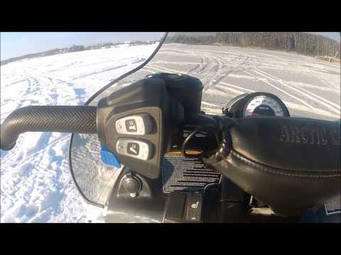 Аренда и прокат снегохода Arctic Cat TZ1 Touring в Подмосковье