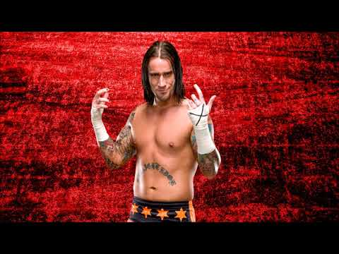 WWE: CM Punk Theme Song This Fire Burns Intro CutExit + Arena Effects