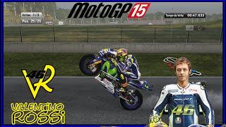 MotoGP 15 -Gameplay -VALENTINO ROSSI PT-BR -1080p