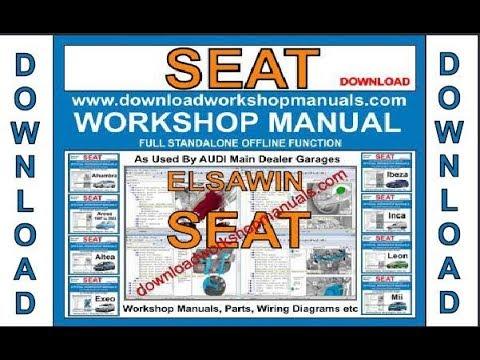 SEAT Leon Workshop MANUAL SERVICE MANUALE download