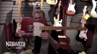 Bill Nash of Nashguitars Visits World Music Nashville