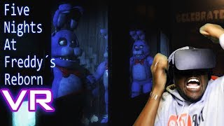FOXY ISN'T THE ONLY ONE THAT CAN RUN | Five Night's at Freddy's REBORN VR