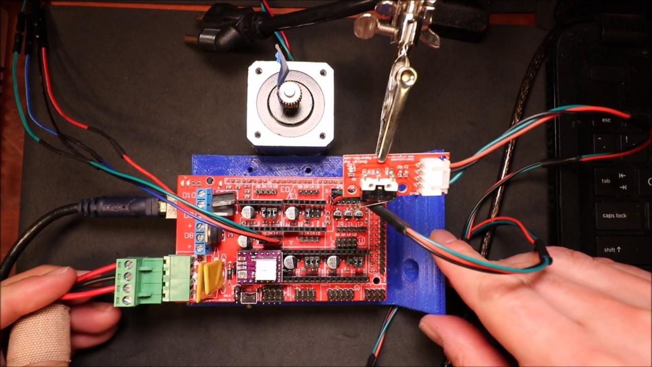 RAMPS 1.4 - Stepper Driver install - DRV8825 on