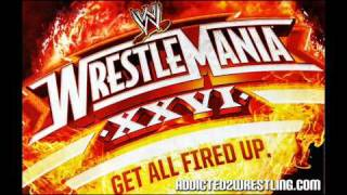 "WWE Wrestlemania 26 Theme Song - ""I Made It"" by Kevin Rudolf"