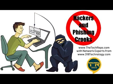 How to stop Hackers, Phishing and Internet Scammers with Network Experts from 318 Technology