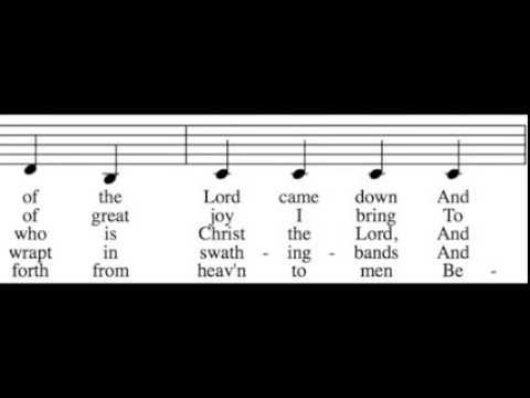 While Shepherds Watched Their Flocks - Alto Only - Learn How to Sing Christmas Carols