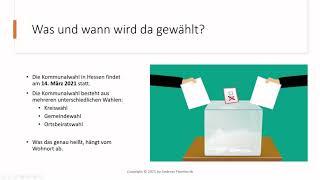 Kommunalwahl 2021 hessen fischbachtal ...