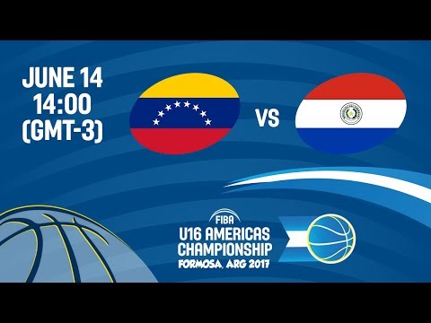 Venezuela vs Paraguay - Group A - FIBA U16 Americas Champion