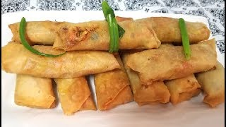 Chicken Spring Rolls and Sheets | Homemade sheets and spring rolls by Easy Cooking With Shazia