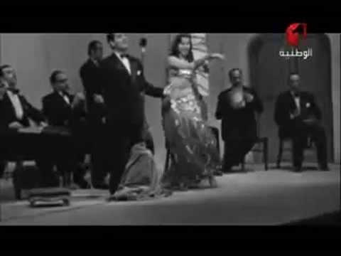 فيلم وثائقي لزيارة الموسيقار فريد الاطرش والفنانة سامية جمال الى تونس عام ١٩٥١