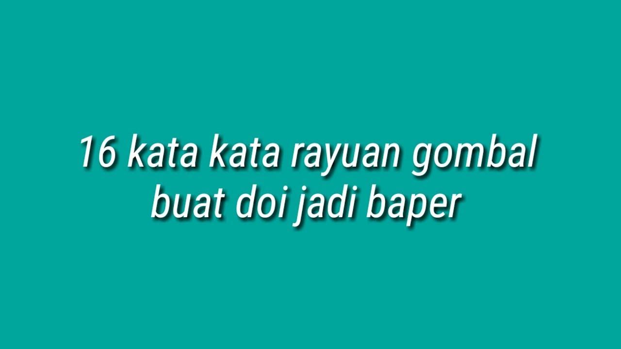 Kumpulan Chat Gombal Buat Pacar Auto Baper By Bijak Channel