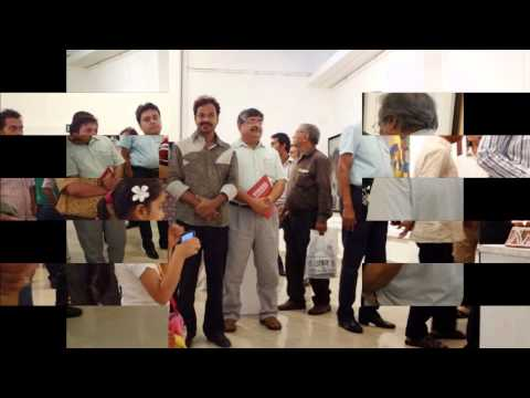"""Inauguration ceremony of """"Visual Synthesis"""" at Shridharni Gallery, Delhi"""