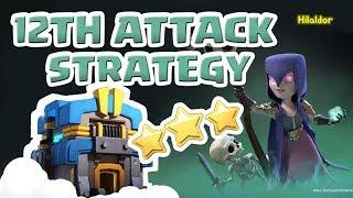 [꽃하마 vs Hilaldor] Clash of Clans War Attack Strategy TH12_클래시오브클랜 12홀 완파 조합(지상)_[#52-ground]