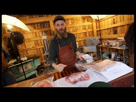 How to Cure a Coppa~ With Hand Hewn Farm