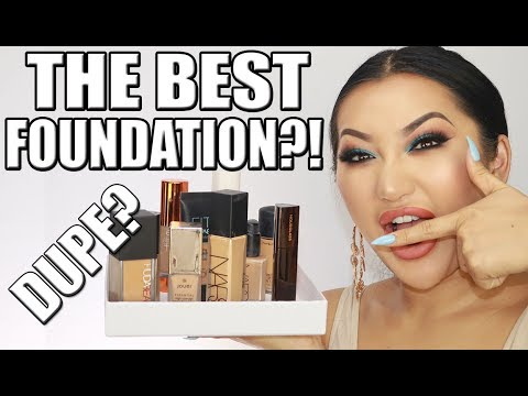 BEST AFFORDABLE & HIGH END FOUNDATIONS & COMPARISONS!