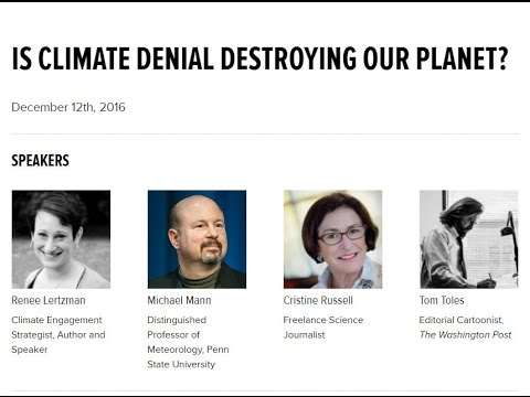 Is Climate Denial Destroying Our Planet? (Feat. Michael Mann) (December 2016)