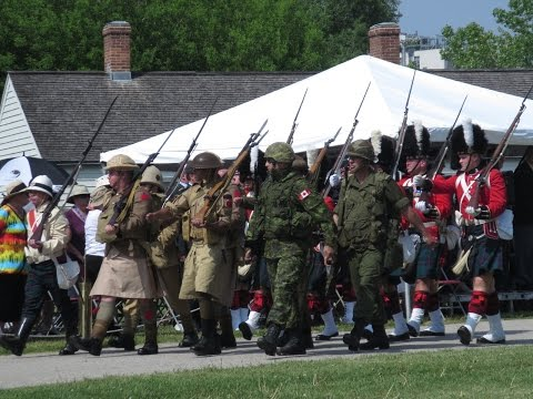 Fort York 48th Highlanders 125th Tattoo 2016 Part 5 of 5 FINAL