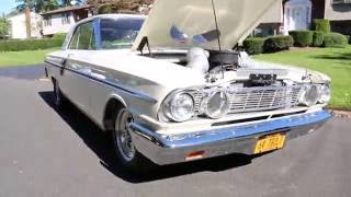 1964 Ford Fairlane For Sale~Monster 460 Motor~4 Speed Top Loader~Body Off Restored!