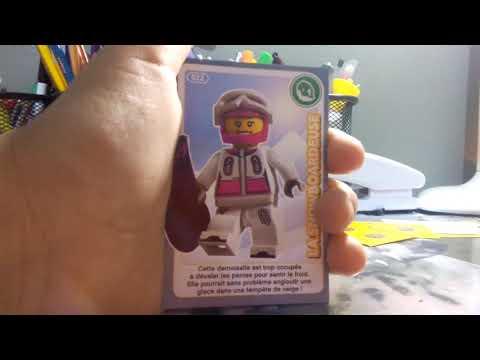 Carte Ninjago Auchan.Ouverture De Carte Lego Auchan Cree Ton Monde Youtube