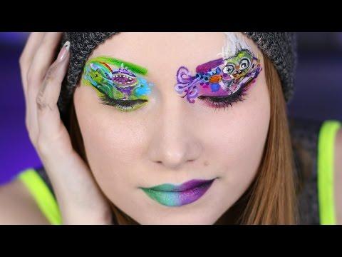 Eye Paint! PVZ Zombie Makeup (Part II)