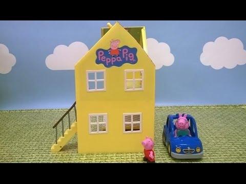 Domek Deluxe z bajki Świnka Peppa