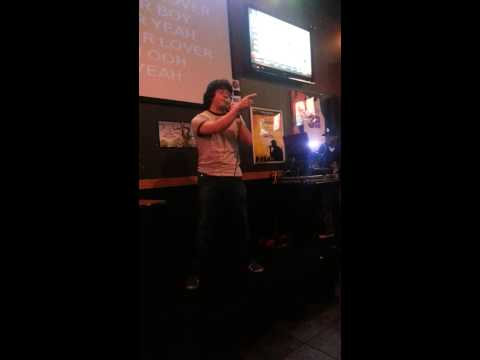Karaoke at buffalo wild wings on Crenshaw