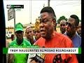 TREM inaugurates Alimosho roundabout