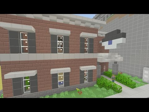Minecraft xbox Epic Structures: Mr VVolf's Eye Doctor's Office