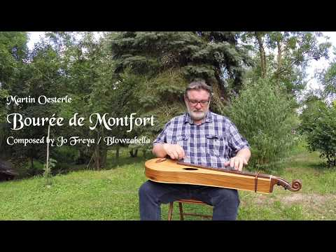 Bourée de Montfort - Konzertdulcimer