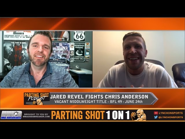 """BFL 49's Jared Revel """"I'm going for a quick finish against Chris Anderson"""""""