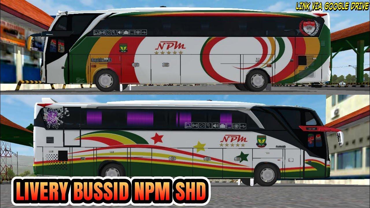 Pada game bus simulator indonesia selain kamu dapat memainkan banyak sekali jenis kendaraan melalui toko ataupun fitur mod, kamu juga bisa mengganti tampilan dari kendaraan tersebut atau biasa dikenal dengan sebutan. Livery Bussid Npm Shd Youtube