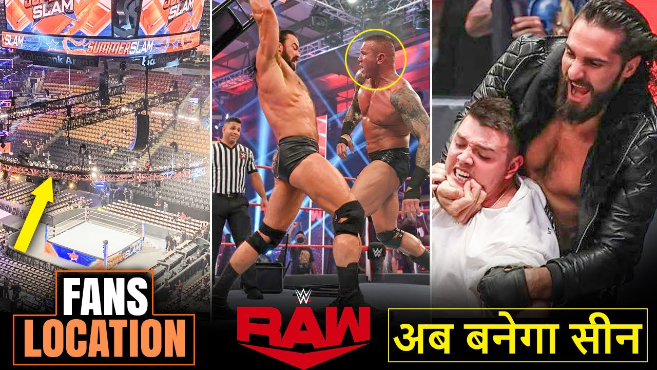 SummerSlam Location Revealed with Fans, Orton/McIntyre MASSIVE Brawl, Cena V Kurt WWE Raw Highlights