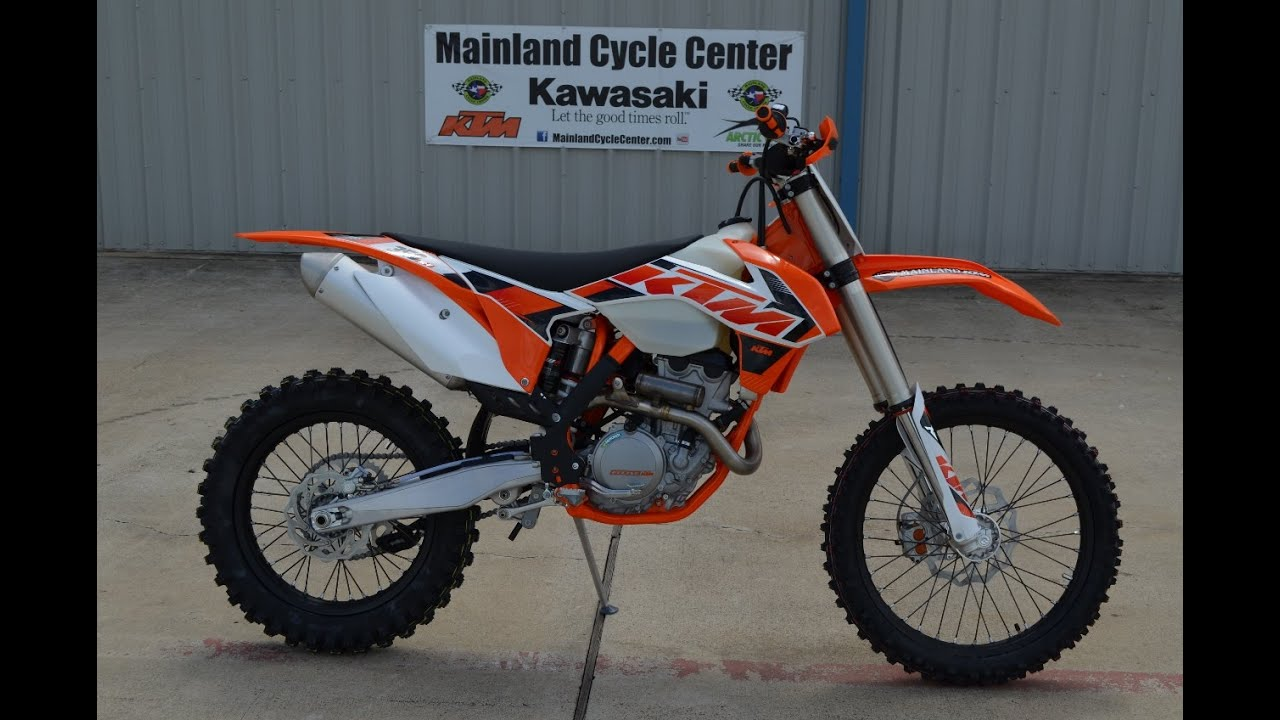 $9,599: 2015 KTM 350 XC-F Overview and Review - YouTube