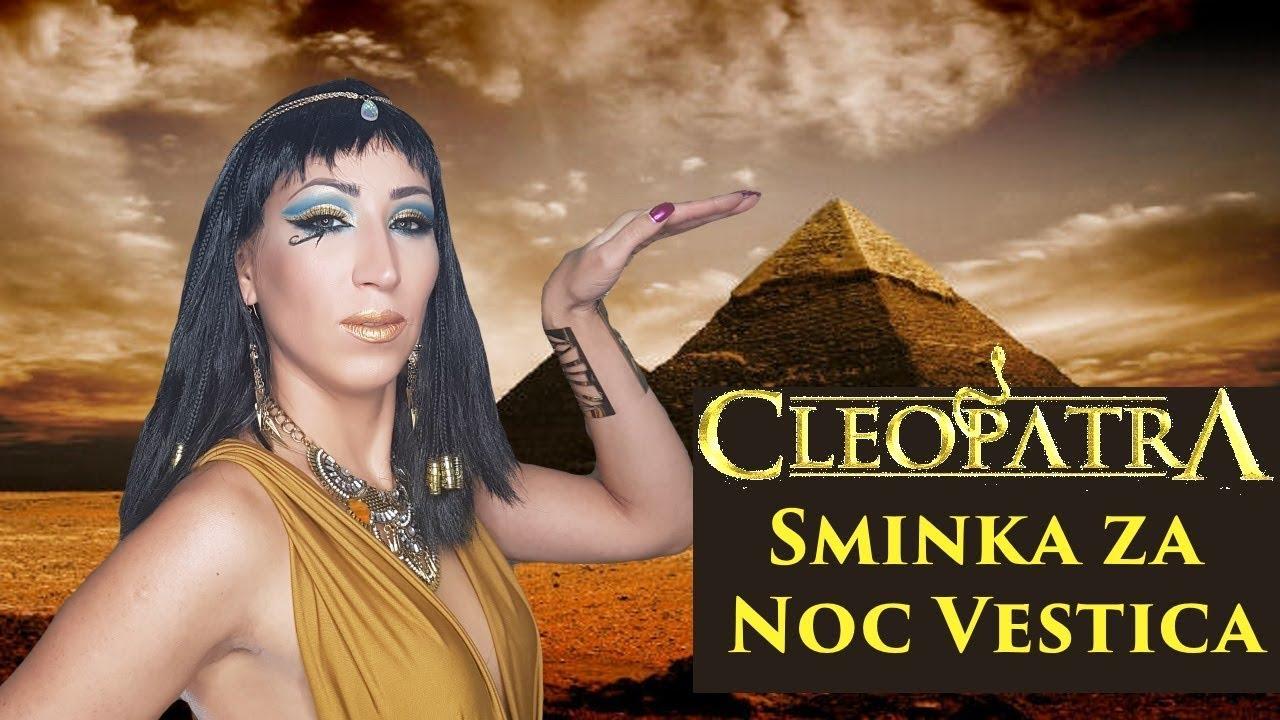 kleopatra sminka za noc vestica ( halloween ) ili neki drugi
