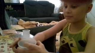 Как сделать магнитную крошку дома. УРОКИ КИРИЛЛА