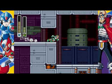 Mega Man X Legacy Collection 1: Part 10 - Sigma Fortress Stage 1 (Megaman X) |