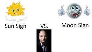 Sun Sign Vs Moon Sign | Western Vs Vedic Astrology | Astrologer Gaurav Malhotra Explains