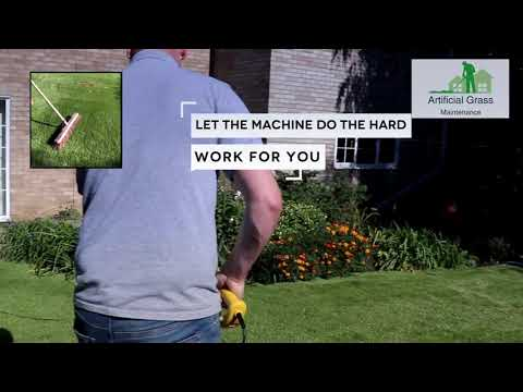 Artificial Grass Power Brush AGM 141EUK  Lawn Broom Sweeper