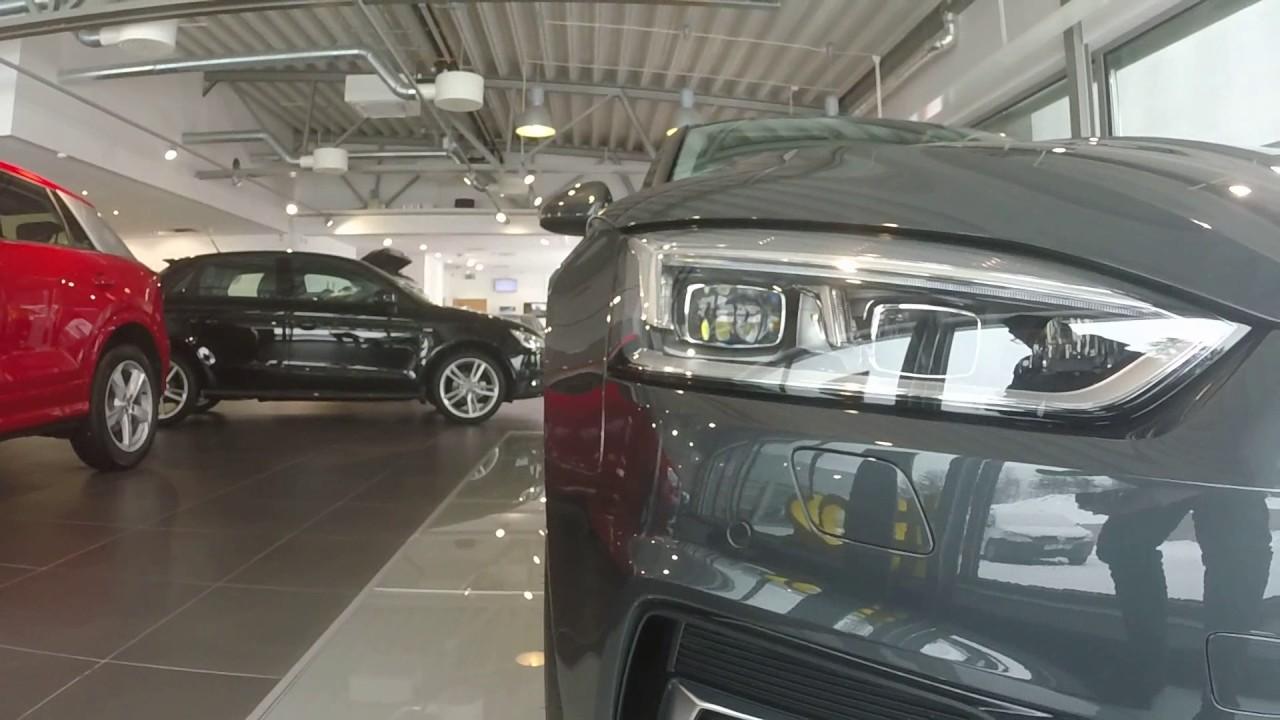 Manhattan Gray 2017 Audi A5 Sportback 190ps Walkaround